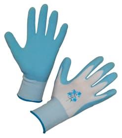 Gants de jardinage Garden Care marine T. 8 (uni) polye./latex