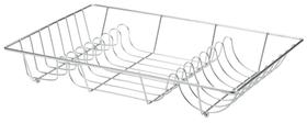 MULTI Égouttoir à vaisselle 441035500380 Couleur Argent Dimensions L: 48.0 cm x P: 32.0 cm x H: 9.0 cm Photo no. 1