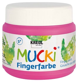 Fingerfarbe Quietsch-Pink 150ml 666441800000 Bild Nr. 1