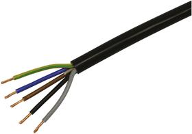 H05VV-F 5x1.5 Câble TD Steffen 613135300000 Couleur Noir Photo no. 1
