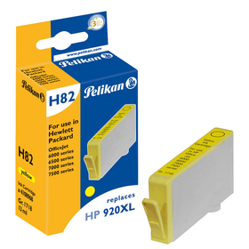 H82 920XL  jaune Cartouche d'encre Pelikan 795833400000 Photo no. 1