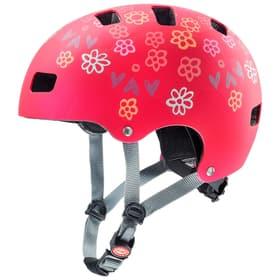 Kid 3 cc Casco da bicicletta Uvex 465028051033 Taglie 51-55 Colore rosso scuro N. figura 1