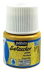 Sétacolor paillette 45ml oro Pebeo 665468800000 Colore Oro N. figura 1