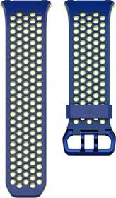 Ionic Cobalt / Vert citron Boucle Sport Fitbit 785300131151 Photo no. 1