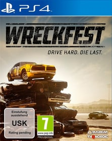 PS4 - Wreckfest Box 785300138639 Langue Français, Italien Plate-forme Sony PlayStation 4 Photo no. 1