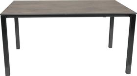 KANO, 150/210 cm, struttura antracite, piano HPL Tavolo allungabile 753194415070 Taglio L: 150.0 cm x L: 95.0 cm x A: 74.0 cm Colore Oxido Terra N. figura 1
