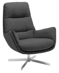ANDRES Fauteuil 402444407084 Couleur Anthracite Dimensions L: 83.0 cm x P: 94.0 cm x H: 97.0 cm Photo no. 1