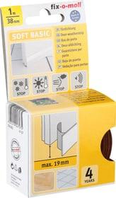 Türdichtung Soft Basic braun, 1 m Dichtung Fix-O-Moll 673004200000 Farbe Braun Bild Nr. 1