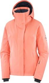 SPEED JACKET W Damen-Skijacke Salomon 462550000457 Grösse M Farbe koralle Bild-Nr. 1