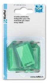 Etiketten grün, 4 Stk. Schlüsselanhänger Rieffel 605606600000 Bild Nr. 1