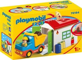 70184 Ouvrier avec camion et garage PLAYMOBIL® 747338000000 Photo no. 1