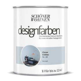 Designfarbe Eisblau 1 l Pittura per pareti Schöner Wohnen 660993600000 Contenuto 1.0 l N. figura 1