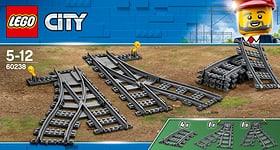 City 60238 Switch Tracks LEGO® 748886100000 Photo no. 1