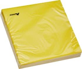 SUMMER Serviettes en papier 445032603350 Couleur Jaune Dimensions L: 33.0 cm x P: 33.0 cm x H: 0.1 cm Photo no. 1