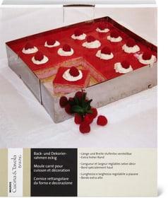 Moule carré pour cuisson et décoration Cucina & Tavola 704969300000 Photo no. 1