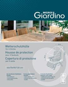 Housse de protection pour 4 fauteuils 753711400000 Photo no. 1