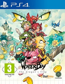 PS4 - Wonder Boy: The Dragon's Trap (D) Box 785300132166 Photo no. 1