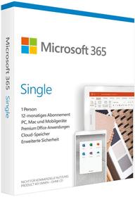 365 Single (D) Physisch (Box) Microsoft 785300153595 Bild Nr. 1