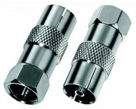 Adapter F-Stecker auf Koax-Kupplung 9000023087 Bild Nr. 1