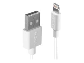 USB an Lightning Kabel, 1m Kabel LINDY 785300141558 Bild Nr. 1