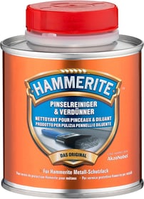 Prodotto per pulizia pennelli e diluente 250 ml Lacca sintetica Hammerite 660804900000 N. figura 1