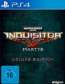 PS4 - Warhammer 40.000 Inquisitor Martyr - Deluxe Edition Box 785300132953 Photo no. 1