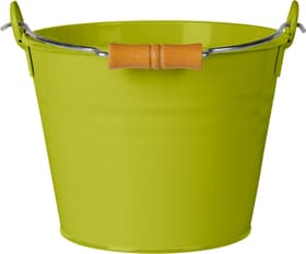 Eimer mit Holzgriff 631327600000 Grösse Liter 4.5 l x B: 22.0 cm x T: 16.0 cm x H: 17.0 cm Farbe Grün Bild Nr. 1