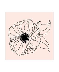 M&B Stamp, Flower big 667727000000 N. figura 1