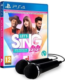 PS4 - Let's Sing 2020 Hits français et internationaux + 2 Mics F Box 785300146833 Bild Nr. 1