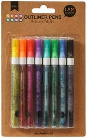 Outliner Pen, Set, 8 Stk. Stifte 668002400000 Bild Nr. 1