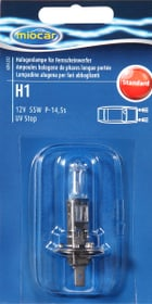 Halogenlampe H1 Standard Autolampe Miocar 620455200000 Bild Nr. 1