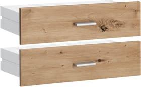 SAX Lot de tiroirs larges imitation chêne 407558400000 Photo no. 1
