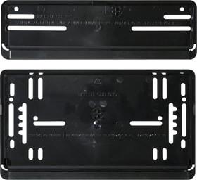 Set per portatarga nero verticale Cornice per targa Miocar 620623300000 N. figura 1