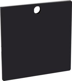 FLEXCUBE Klappe schmal 401817710020 Farbe Schwarz Grösse B: 37.0 cm x H: 37.0 cm Bild Nr. 1