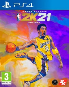 PS4 - NBA 2K21 Edition Mamba Forever (D) Box 785300154430 Plate-forme Sony PlayStation 4 Langue Allemand Photo no. 1