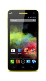 Wiko Rainbow 8 GB LTE gelb 95110038586815 Bild Nr. 1