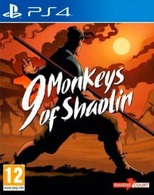 PS4 - 9 Monkeys of Shaolin (D) Box 785300150892 Bild Nr. 1