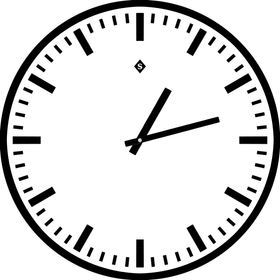TRAIN Orologio a parete 433013500000 N. figura 1