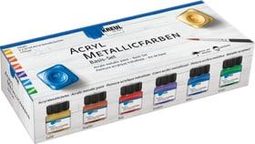KREUL Acryl Metallicfarben Basis Set Acryl Farben 666440900000 Bild Nr. 1