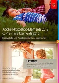 PC/Mac - Photoshop Elements 2018 & Premiere Elements 2018 Upgrade (D)