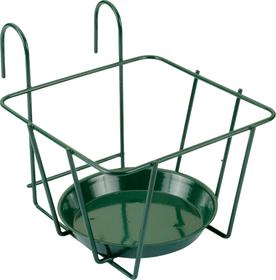 avec des crochets Support de pot à fleurs Do it + Garden 631337900000 Couleur Vert Taille L: 18.0 cm x P: 23.0 cm x H: 17.0 cm Photo no. 1