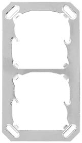 AP/UP 2-fach Montageplatte Mica for you 612137800000 Bild Nr. 1