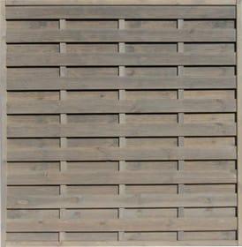 Dichtzaun 647111600000 Farbe Grau Grösse B: 180.0 cm x T: 5.0 cm x H: 180.0 cm Bild Nr. 1