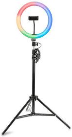 Videoleuchte LoomiPod RGB LED Ringleuchte / Ringlicht 4smarts 785300158266 Bild Nr. 1