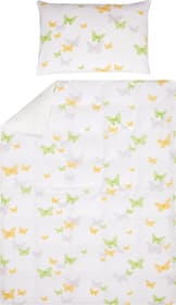SARA Taie d'oreiller satin 451304210861 Couleur Vert clair Dimensions L: 50.0 cm x H: 70.0 cm Photo no. 1