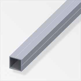Tubo quadrato 23.5 mm naturale 1 m alfer 605088100000 N. figura 1