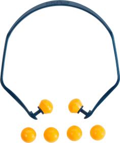 Arceau antibruit multi-usages, avec 4 bouchons de rechange