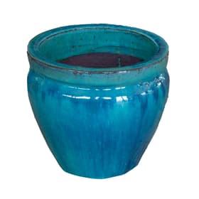 Pot en grès Minh, jade Do it + Garden 658701700021 Couleur Bleu Taille ø: 21.0 x H: 18.0 Photo no. 1