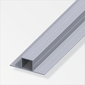 Quadratrohr 1.5 x 23.5 x 67.5 mm 180° blank 1 m alfer 605137700000 Bild Nr. 1