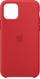 iPhone 11 Pro Silikon Case Rot Hülle Apple 785300146952 Bild Nr. 1
